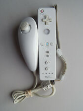 Official Nintendo Brand White Wiimote & Nunchuk for Wii Remote Nunchuck OEM