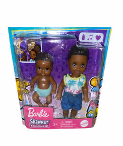 Barbie Skipper Babysitters Inc Toddler Sibling 2-Pack - Tommy, Ryan doll AA