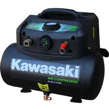 Kawasaki Druckluft Kompressor Montagekompressor ölfrei K-AC 6-1200 Mobil Kompakt