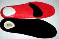 FootTrek massaging comfort sports plantar fasciitis orthotic insoles inserts