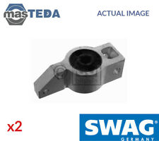 2x SWAG FRONT CONTROL ARM WISHBONE BUSH 30 93 8662 G NEW OE REPLACEMENT
