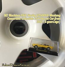 M2 MACHINES 1968 SHELBY GT500KR CONVERTIBLE MUSTANG 1:64 DIECAST CAR COBRA FORD