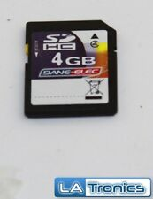Dane-Elec 4GB Compact Flash Memory Card SDHC SD Card Tested