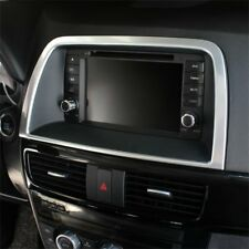 Fit Mazda CX5 CX-5 2013-2015 Interior Centre Console GPS Frame Cover Accessories