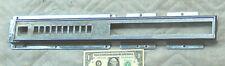 Vtg Off Un Rockola Juke-Box Modèle 454 OEM Chrome Section Métal Bouton De 48969