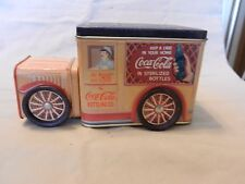 Coca-Cola Decorative Metal Truck Candy Tin from 1995