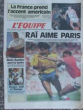 L'Equipe du 26-27/12/1992 - Raï - Basket - Vendée Globe - Hockey Rouen