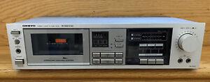 Onkyo Stereo Cassette Tape Deck Model No. TA-2022