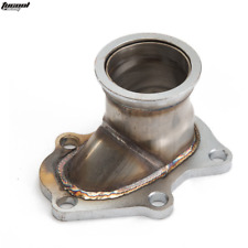 """TD04 5 Bolt Turbo Downpipe Flange to 2.5"""" V Band Conversion Adaptor For Subaru"""