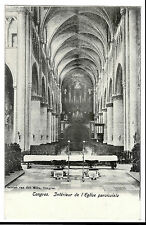 Tongeren, Tongres , PPC Unposted, Interior of the Parish Church by Van den Born