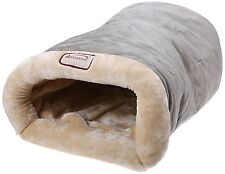 Pet Bed Dog Cat Winter Warm Soft Cave Sleeping Shelter Rescue Plush Nest