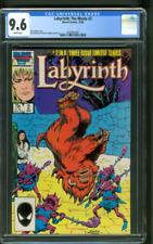 Labyrinth The Movie 2 CGC 9.6 David Bowie Jim Henson Dark Crystal 1986
