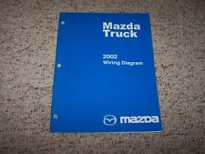 2002 Mazda B-Series Truck B2300 B3000 B4000 Electrical Wiring Diagram Manual