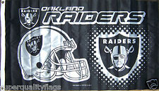 OAKLAND RAIDERS FLAG NEW 3x5 ft RICO BANNER