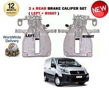 FOR FIAT SCUDO 2007 > 2x REAR LEFT + RIGHT SIDE BRAKE CALIPER COMPLETE 4401L1