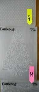 Cuttlebug Large Embossing folders - discounts if you buy more than one.