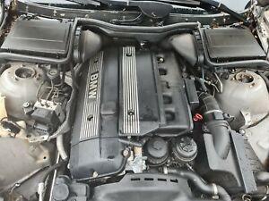 BMW E39 530i Complete Engine m54b30 3.0