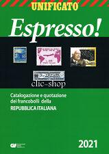 CATALOGO UNIFICATO ITALIA ESPRESSO FRANCOBOLLI REPUBBLICA ITALIANA 2021