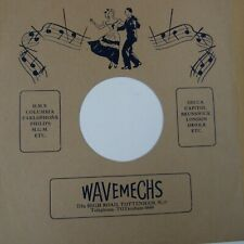 "10"" 78rpm gramophone record sleeve WAVEMECHS 771a High Road Tottenham"
