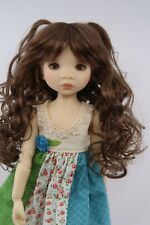 Monique Sweet Princess Wig Chestnut Size 6-7 YoSd Bjd shown on My Meadow Avery