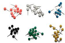 Stecknadeln, Nadeln, Markiernadeln - 50 Stück, farblich sortiert