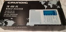 Grundig  YB 400PE  World Receiver  Shortwave Radio complete. Tested works great.