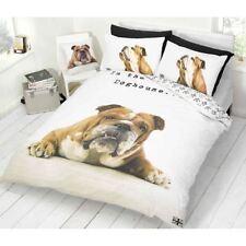 Lenzuola e biancheria da letto bianca animali