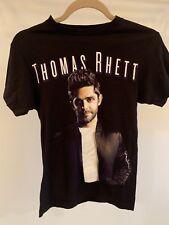 Thomas Rhett 2017 Concert Home Team Tour Black Band T Shirt Adult Xs