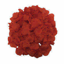 Red Silk Rose Petal 1000 Piece Wedding Party Favors Leis Arts Crafts Loose Decor