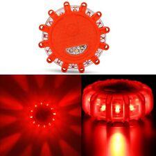 LED Road Flares Emergency Roadside Safety Disc Marine Flashing Light Beacon Car