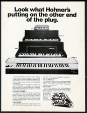 1971 Hohner Clavinet C Pianet Cembalet Bass keyboard photo vintage print ad