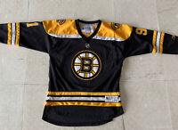 MARC SAVARD BOSTON BRUINS  LOGO REEBOK NHL HOCKEY JERSEY Youth L/XL