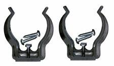 Flashlight Mounting Bracket Clip clamp Holder 2 Pack Black for AA Mini Maglite
