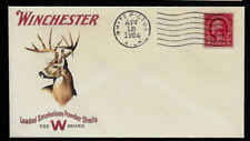 1920s Whitetail Buck Winchester Hunting Ad Reprint Collector's Envelope Op1356