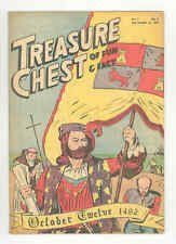TREASURE CHEST v3 #3 EXTREMELY RARE .1947. COLUMBUS - Vatican City-State  VF-