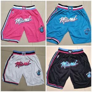 Miami Heat Multi-attribute Hot Selling City Version Basketball Shorts Size:S-XXL