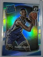 Harry Giles 2017-18 Donruss Optic SILVER Prizm Holo Refractor RC #181 - KINGS