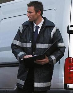 Warnschutzjacke Management Coat/Sicherheitsjacke R023X Result Größen S-3XL