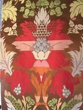 CLARENCE HOUSE Verlaine Floral Silk Linen lampas multi color new 2+ yards