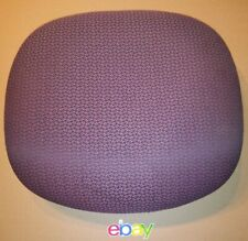 HON OFFICE CHAIR BURGUNDY FABRIC PADDED SEAT CUSHION GREAT FUNCTIONAL CONDITION