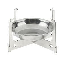 Portable Alcohol Stove & Pot Stand for Outdoor Cooking Backpacking Stove
