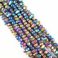 80002203-A13 20-30MM Green Agate Gemstone Stick Chip Loose Beads 15.5 inch