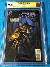 Batman: Shadow of the Bat #39 - DC - CGC SS 9.8 - Signed by Brian Stelfreeze