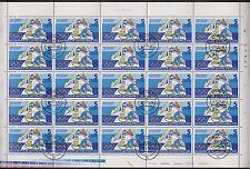 DDR 2099 Olymp.Winterspiele 5 Pfg. aus 1975 im kompletten Bogen I