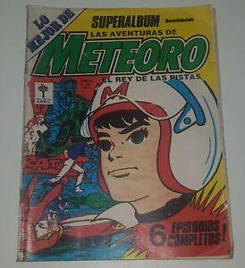 Super Album METEORO #1 vintage 1976 SPEED RACER Comic Book ARGENTINA Ed. Abril