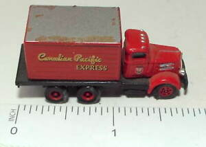 N Scale Three Axle Box Truck marked Canadian Pacific Express