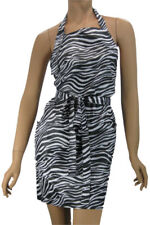Zebra Salon Hairstylist Apron Water Resist Finish Lightweight WennerWear