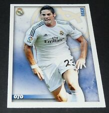 ISCO ESPAÑA MERENGUES REAL MADRID FOOTBALL CARD LIGA 2014-2015 MDCROMO PANINI