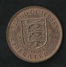 Jersey : 1/12 Shilling 1945 ; Qualité