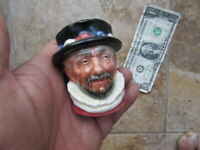 Best Typical 1946 ROYAL DOULTON KING'S BEEFEATER Ceramic Toby Jug, England, GIFT